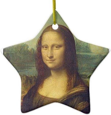 Amazon Com 659parkerrob Ornaments The Mona Lisa La Joconde By Leonardo Da Vinci Christmas Ornaments Tree Decoration Keepsake Birthday Annivesary Xmas Gifts Home Decor Home Kitchen