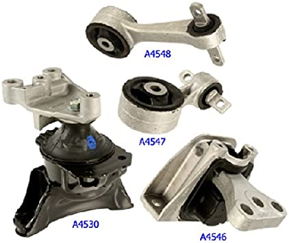 A4546 A4547 A4548 Fits 06 07 08 09 10 11 Honda Civic 1.8L MT Engine Motor Mount