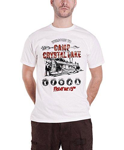 Friday The 13Th T Shirt Camp Crystal Lake