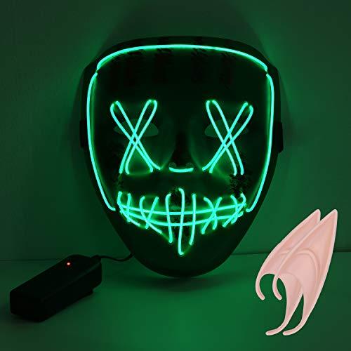🥇 URAQT Mascaras de Halloween