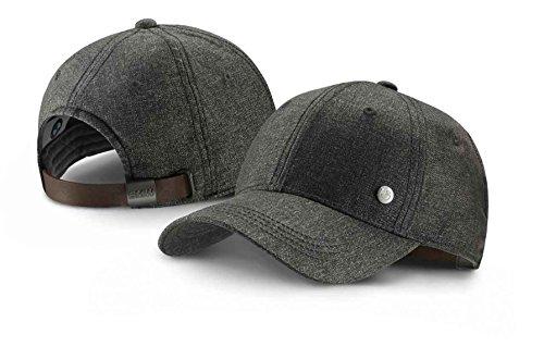 ce0eb6cae55 BMW Genuine Collection Logo Peaked Cap Adjustable Hat Grey Melange  80162411105 - Buy Online in Oman.