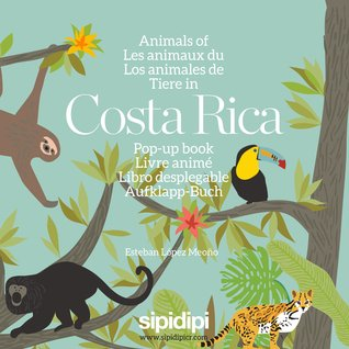 Animals of Costa Rica: Pop-up Book