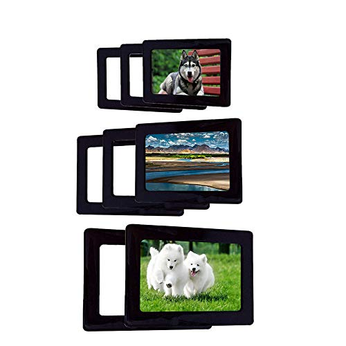 Magnetic Photo Picture Frames and Refrigerator Magnets Frame culture card ,ornaments exhibition for Refrigerator,soft rubber picture frame for Wedding Family Love Baby 4x6