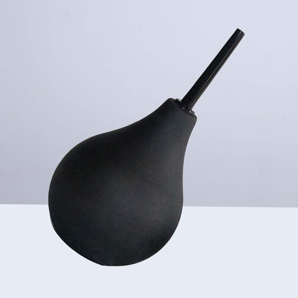 HEALIFTY - Bola de limpieza de silicona, 224 ml, para limpieza de orejas, color negro