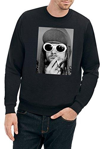 Kurt Smoking Sweater Nero Certified Freak