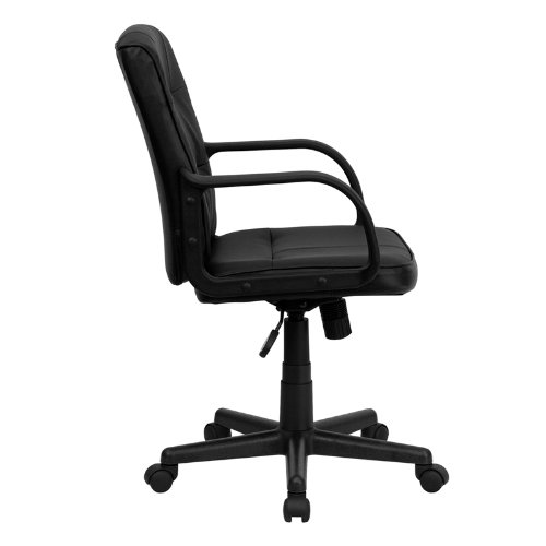 Review Flash Furniture Mid-Back Black