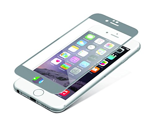 ZAGG InvisibleShield Glass Luxe Screen Protector - HD Clarity + Reinforced Protection for Apple iPhone 6 / iPhone 6S - Titanium