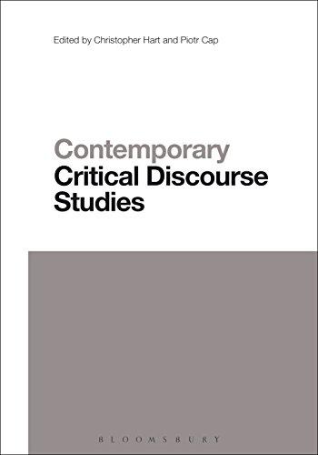 Contemporary Critical Discourse Studies (Contemporary Studies in Linguistics) Pdf