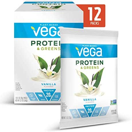 Protein & Meal Replacement: Vega Protein & Greens Packets
