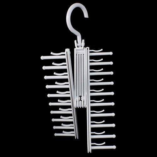hot sale 2017 uxcell Family House Cloakroom Scarf Belt Necktie Hanger Hook Organizer 2pcs