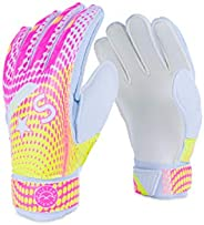Victor Sierra 'Recoil' Soccer Goalkeeper Gloves for Kids and Adults with Finger Pr