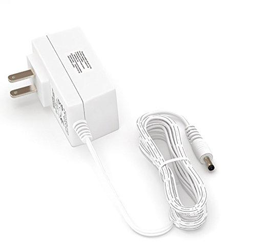 EShine 24 Watt 12V DC Power Supply Adapter for LED Under Cabinet Lighting (White)