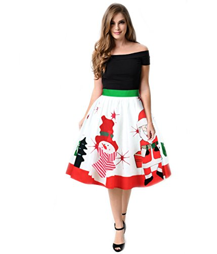 Kidslove Kleid damen elegant Weihnachten kleid damen Unterkleid ...