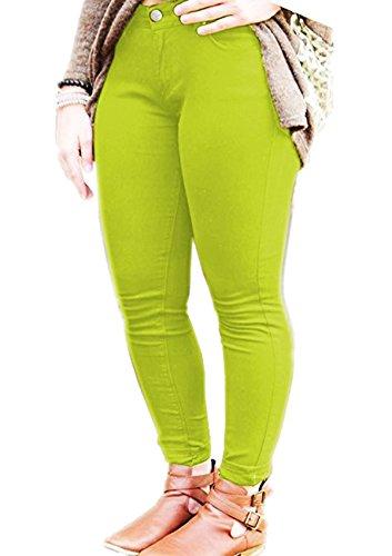 Pomme unique Vert taille Inc Jeans Vanilla Femme noir Xwx0zpOq1