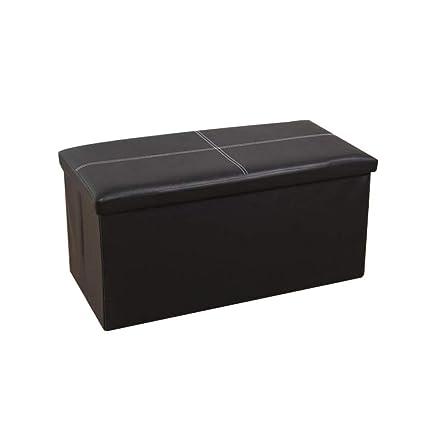 Enjoyable Amazon Com Hmeigui Storage Ottoman Square Bench Chest Creativecarmelina Interior Chair Design Creativecarmelinacom
