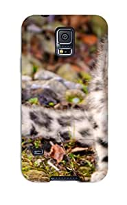 Flexible Tpu Back Case Cover For Galaxy S5 - Rare Cat