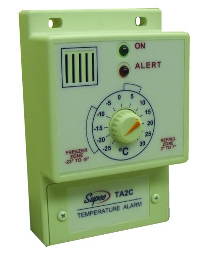 Supco TA2C Single Set Point Temperature Alarm, -25 to 30 Degrees C, 120 VAC by Supco (Image #1)