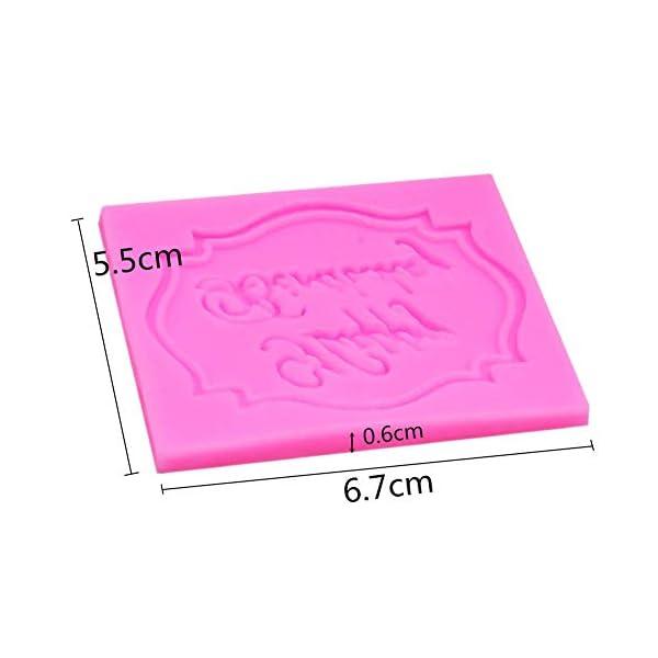 MOPKJH stampi Silicone Natalizi stampi in Silicone Natalizi Stampo di Natale Creativo Esclusivo Stampo Natalizio Stampo… 2 spesavip