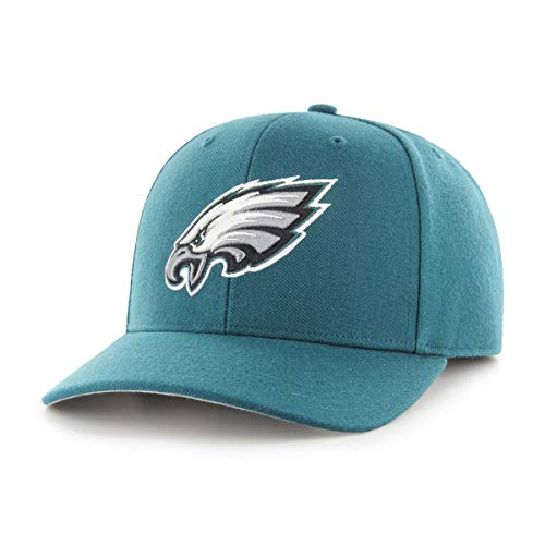 OTS NFL Philadelphia Eagles Male All-Star Dp Adjustable Hat, Pacific Green, One Size