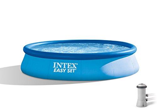 Intex 28167EH 15 Foot x 33 InchBlue Easy Set Pool  Easy Set Pool Accessories