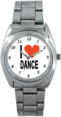 Music Treasures Tag-Like Sports I Love Dance Watch by Music Treasures Co.
