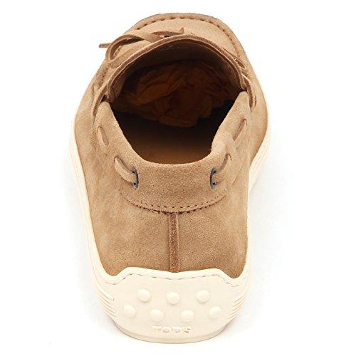 Shoe Loafer E4178 Laccetto Man Beige Tod's Beige Scarpe Mocassino Uomo Suede T0w8nXR