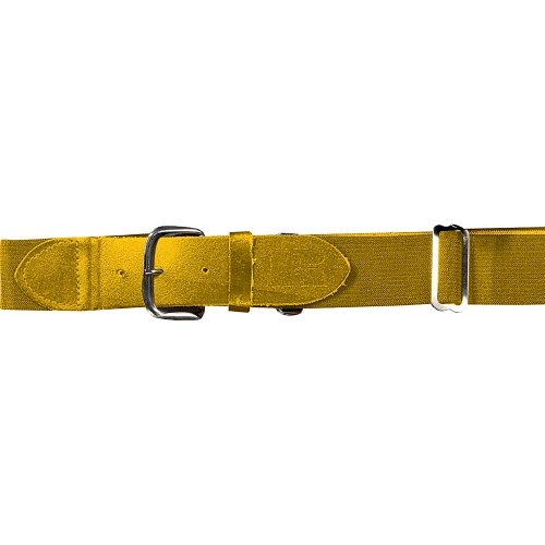 Russell Athletic Adult Elastic Baseball Belt, Gold  (Russell Athletic Uniforms Baseball)
