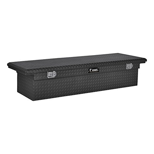 (UWS EC10473 69-Inch Matte Black Aluminum Truck Tool Box with Low Profile)