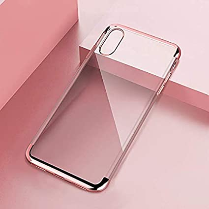 Amazon.com: Floveme iphone X funda, lujo Crystal Clear Ultra ...