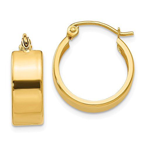 (14k Yellow Gold Small Hoop Earrings Ear Hoops Set Fine Jewelry Gifts For Women For Her)