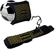 Soccer Kick Ball Hands Free Solo Trainer by F1TNERGY - Adjustable Waist Belt Fits Ball Size 3,4 & 5 - Thro