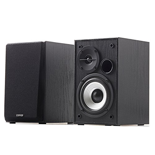 Edifier R980T 4'' Active Bookshelf Speakers - 2.0 Computer Speaker - Powered Studio Monitor (Pair) by Edifier