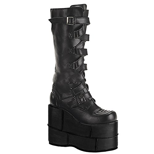 Stack 308 Platform Punk Demonia Industrial mega 3 Punk Gothic 12 5 Boots Shoes BF6qwx