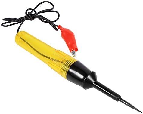 Jadeshay Tester Pen Auto Car Vehicle Circuit Tester DC 6V 12V 24V Light Bulb Voltage Test Pen