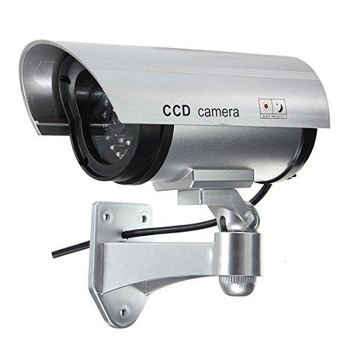 Dummy Security Camera - Fake Dummy Security Camera - Fake Dummy Surveillance IR LED Imitation Security Camera ( Fake Dummy Camera )