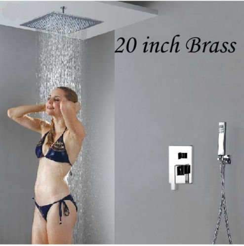 20 inch shower head and arm - 9