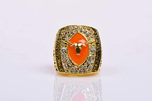 HASTTHOU Replica Championship Ring for 2005 Texas Longhorn Gift Fashion Gorgeous Collectible Jewelry