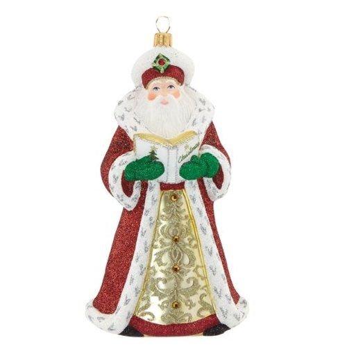 Reed & Barton Christmas Reflections Annual Santa Ornament