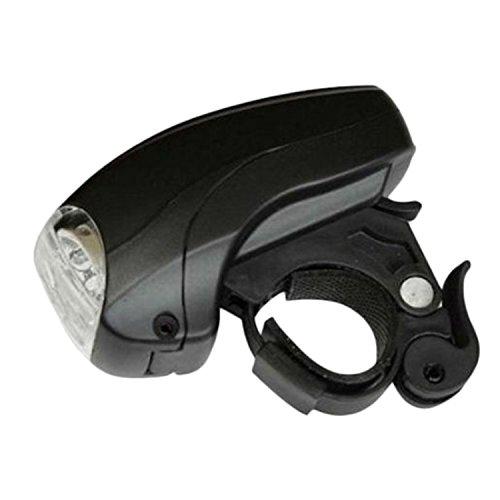 5W LED Super Lumière Puissante Mini Lampe Eclairage Avant Vélo Phare VTT Bicyclette 3 Mode Flashlight Détachable Rapide Style