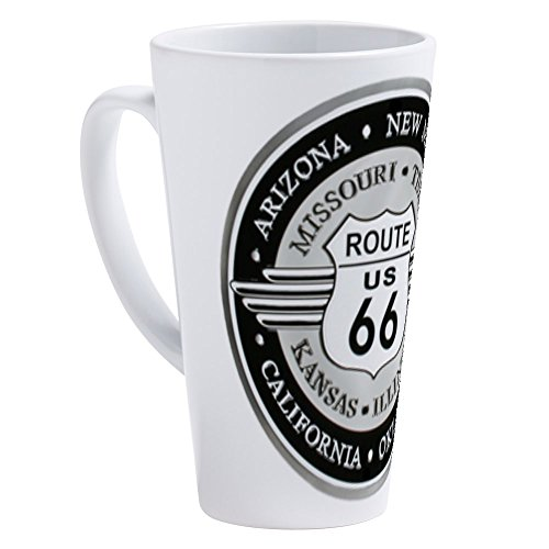 CafePress - Route 66 States - 17 oz Latte Mug ()
