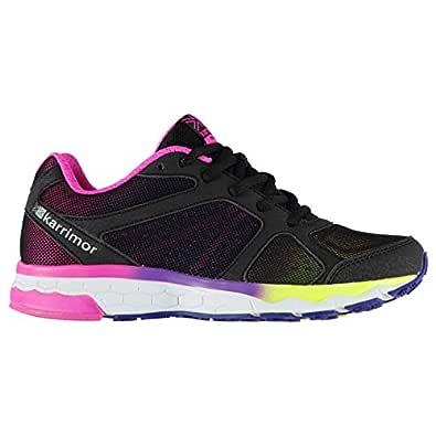 Karrimor Tempo 5 Girls Running Shoes Runners Navy/Pink 3 (35.5)