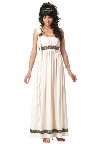 California Costumes Olympic Goddess Adult Costume, Cream, Medium ()