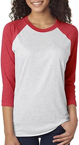 Next Level Unisex Tri-Blend 3/4-Sleeve Raglan - 6051