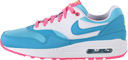 Nike AIR MAX 1 (GS) girls fashion-sneakers 653653-400_7Y