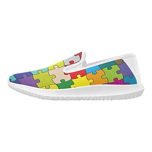 Scarpe Da Uomo Slip-on Slip-on Slip Da Donna 64 Pezzi Puzzle Da Uomo Multiuso 1