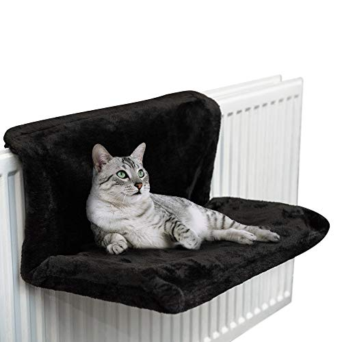 Petlicity-Warm-and-Cosy-Pet-Cat-and-Dog-Radiator-Bed-Black