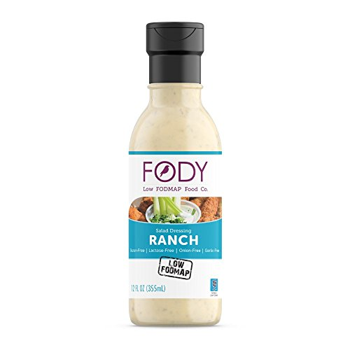 FODY - Low FODMAP Salad Dressing, 12 Ounce, Ranch