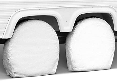 40in - 42in Covercraft ST7005WH White Giant Snap Ring Tire Saver