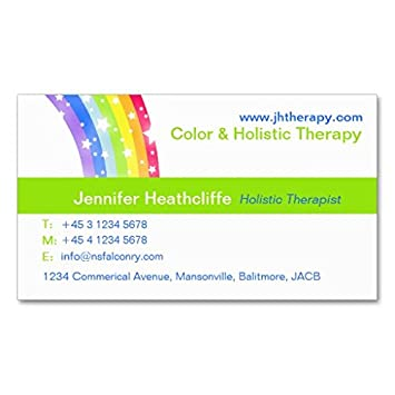 Carte De Visite Holistique Societe Therapie