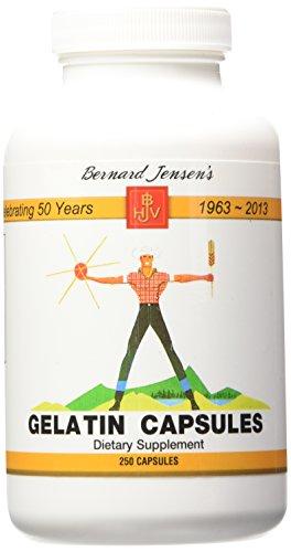 Bernard Jensen Products - Gelatin, 250 capsules